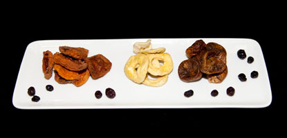Dried Fruit - Peache Apple Figs Cranberries