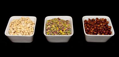 Nuts - Almonds Pistachio Hazelnut